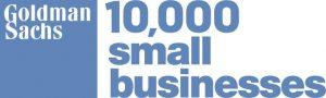Goldman Sachs 10,000 small businesses logo