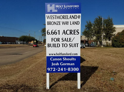 Real Estate Leasing Signs