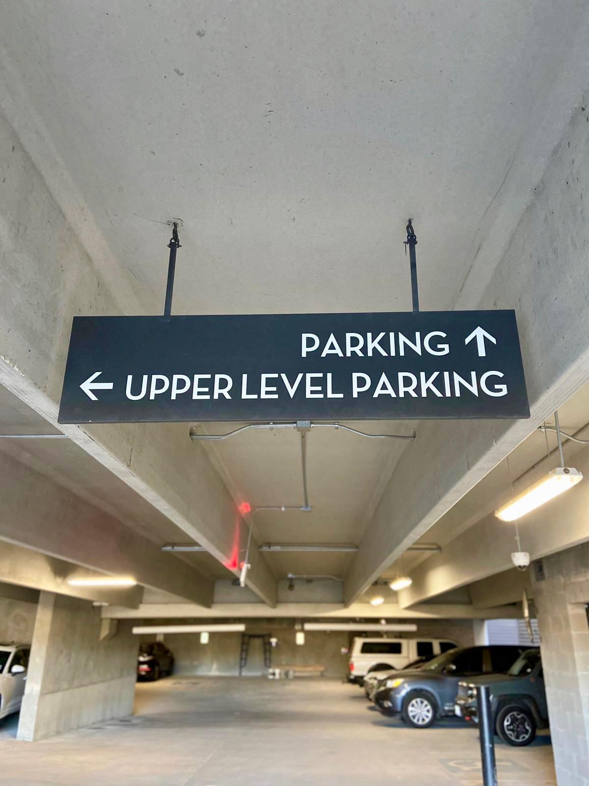 9 Parking Sign