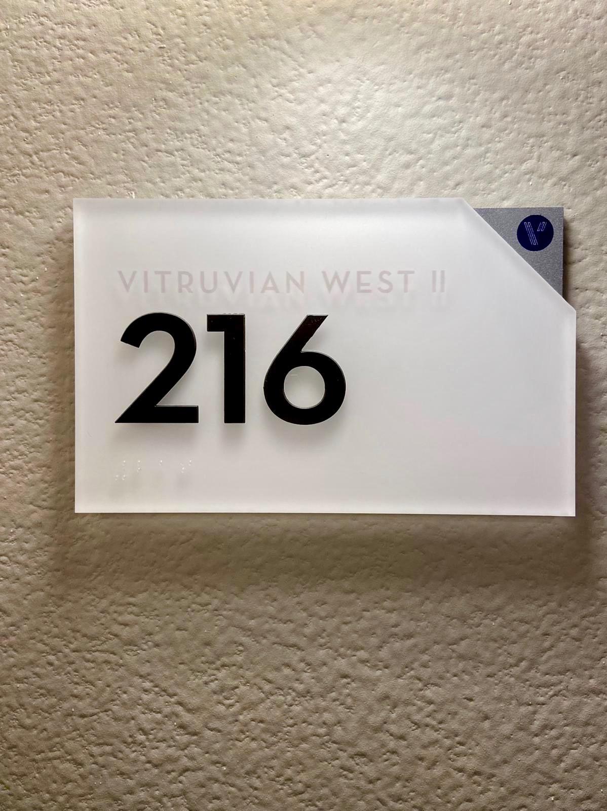 Unit ID Sign 2