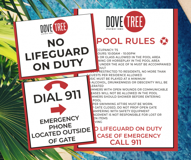 Dive into Summer with New Pool Sign Regulations. FSGS Has You Covered. 3