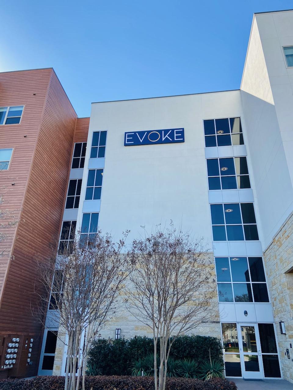 1 Modern Building Sign