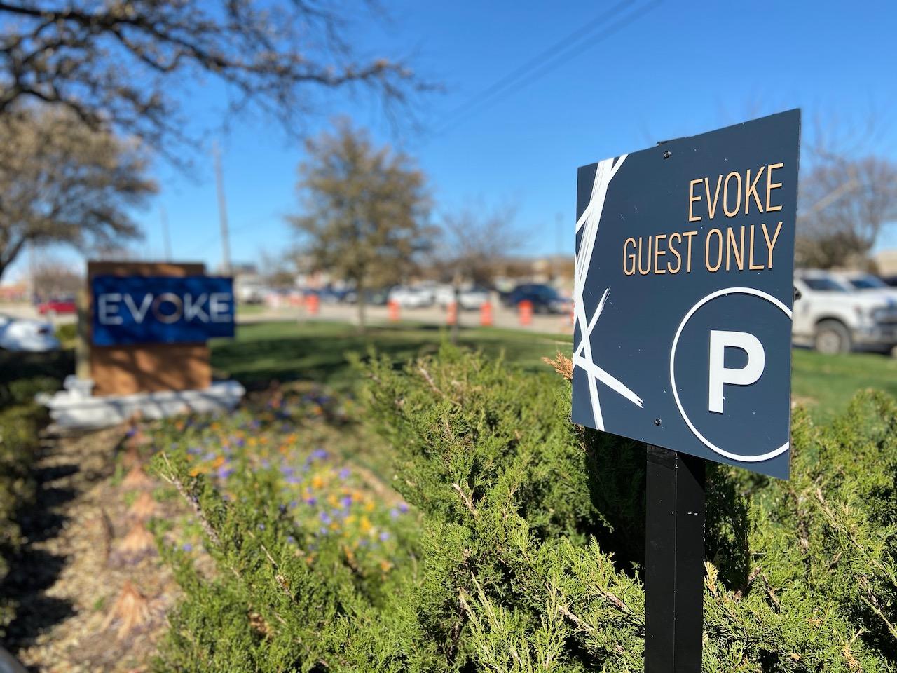 7 Guest Parking Sign