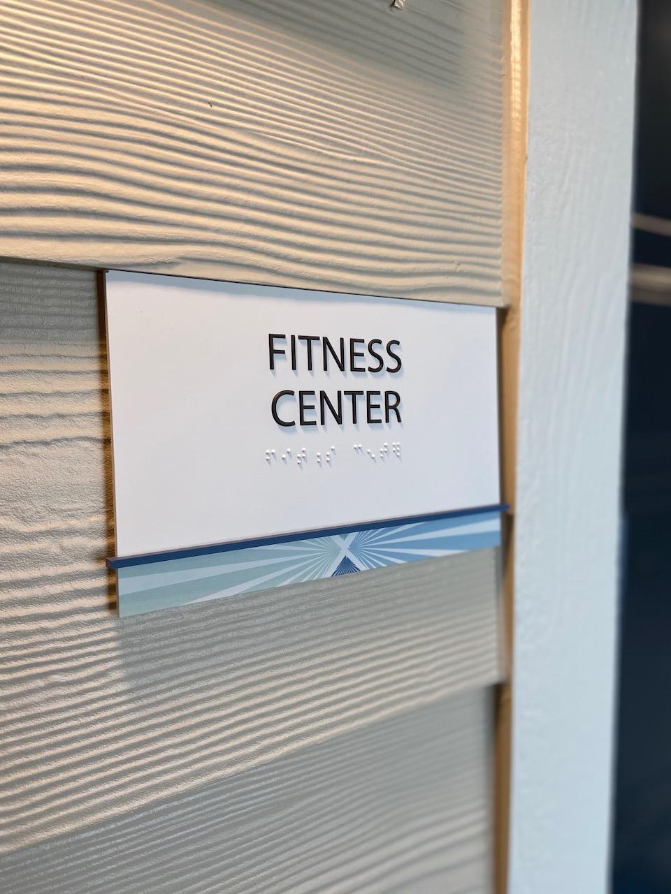 Fitness Center Signs Dallas