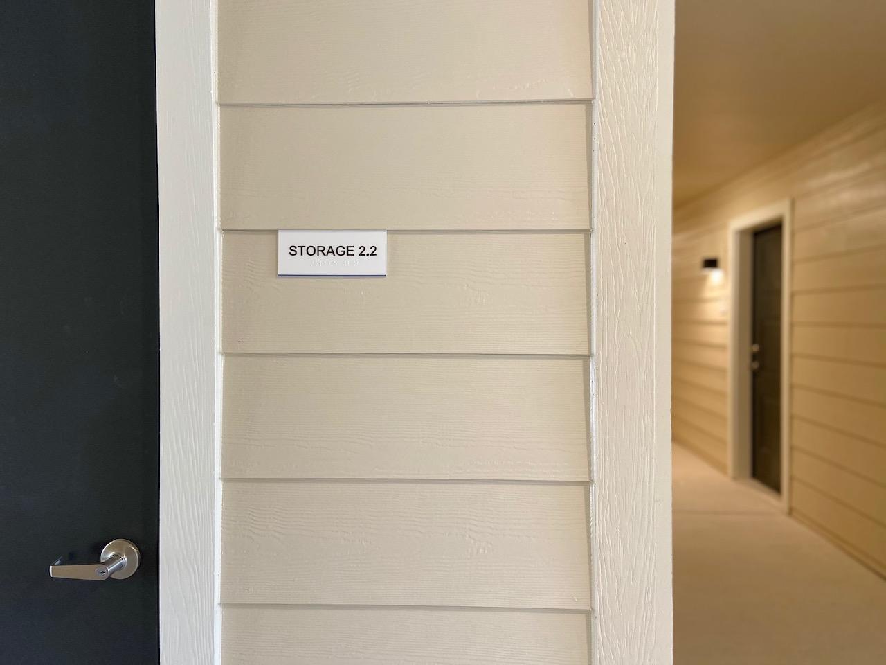 Storage Signs