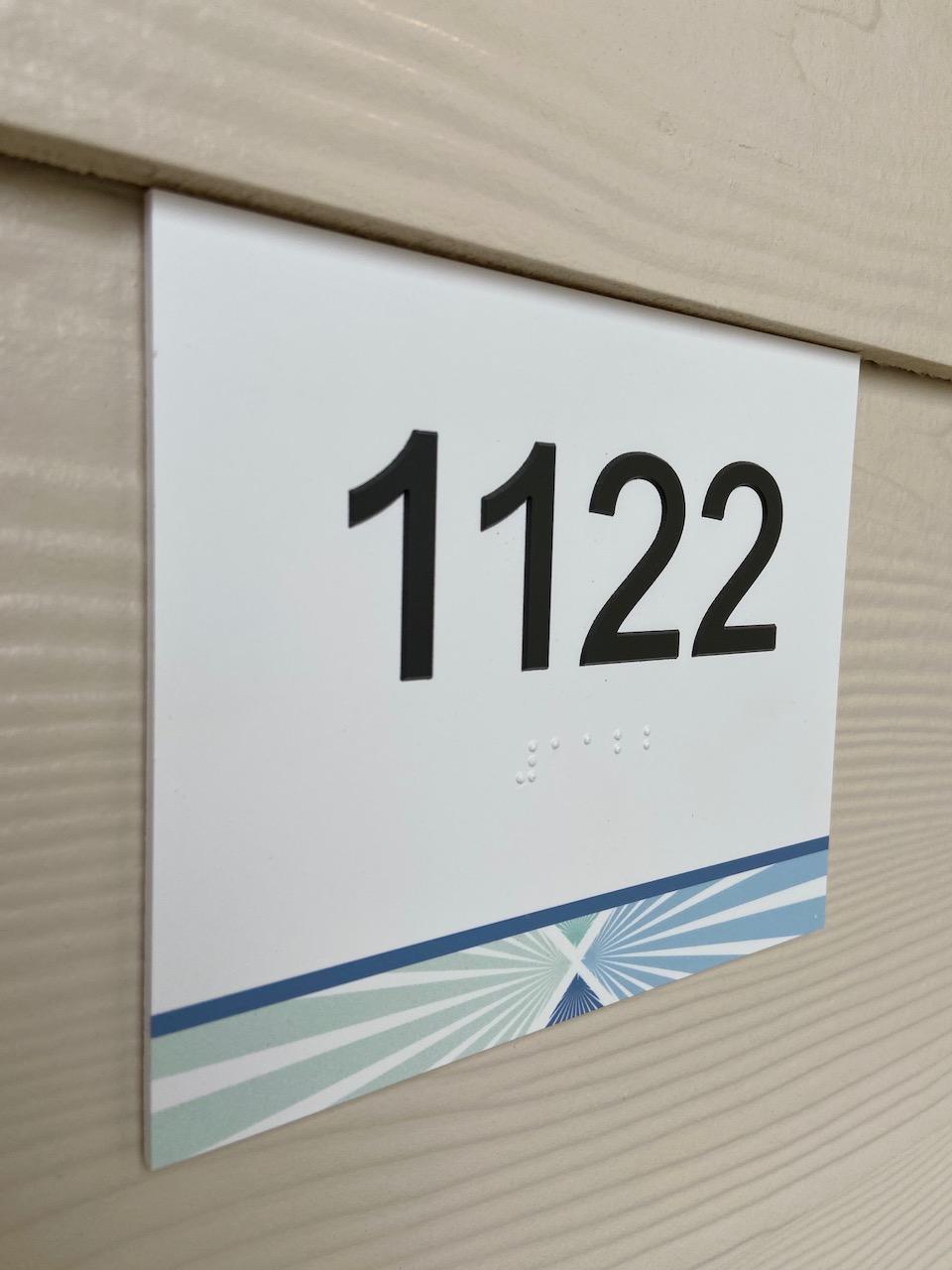 Unit Signs Apartments